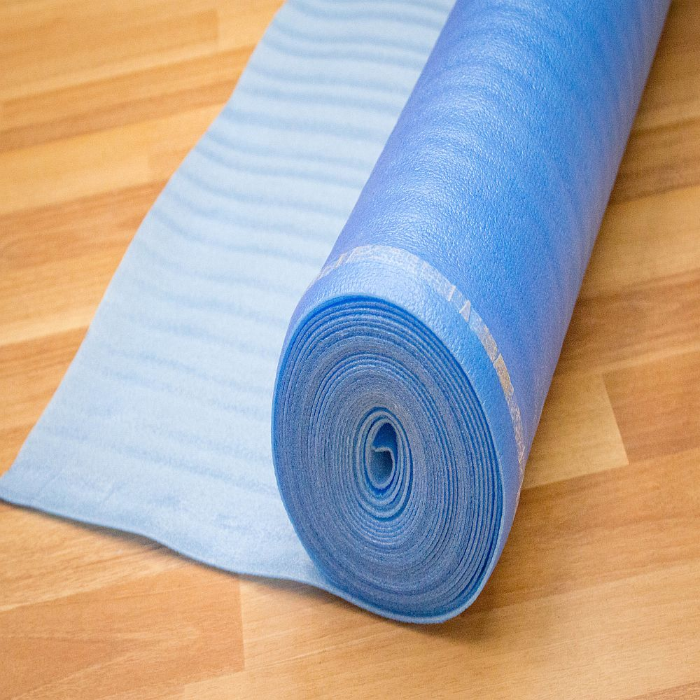 SFI 3 N 1 Foam Laminate/Wood Underlayment ( 200 Sq. Ft. Per Roll )