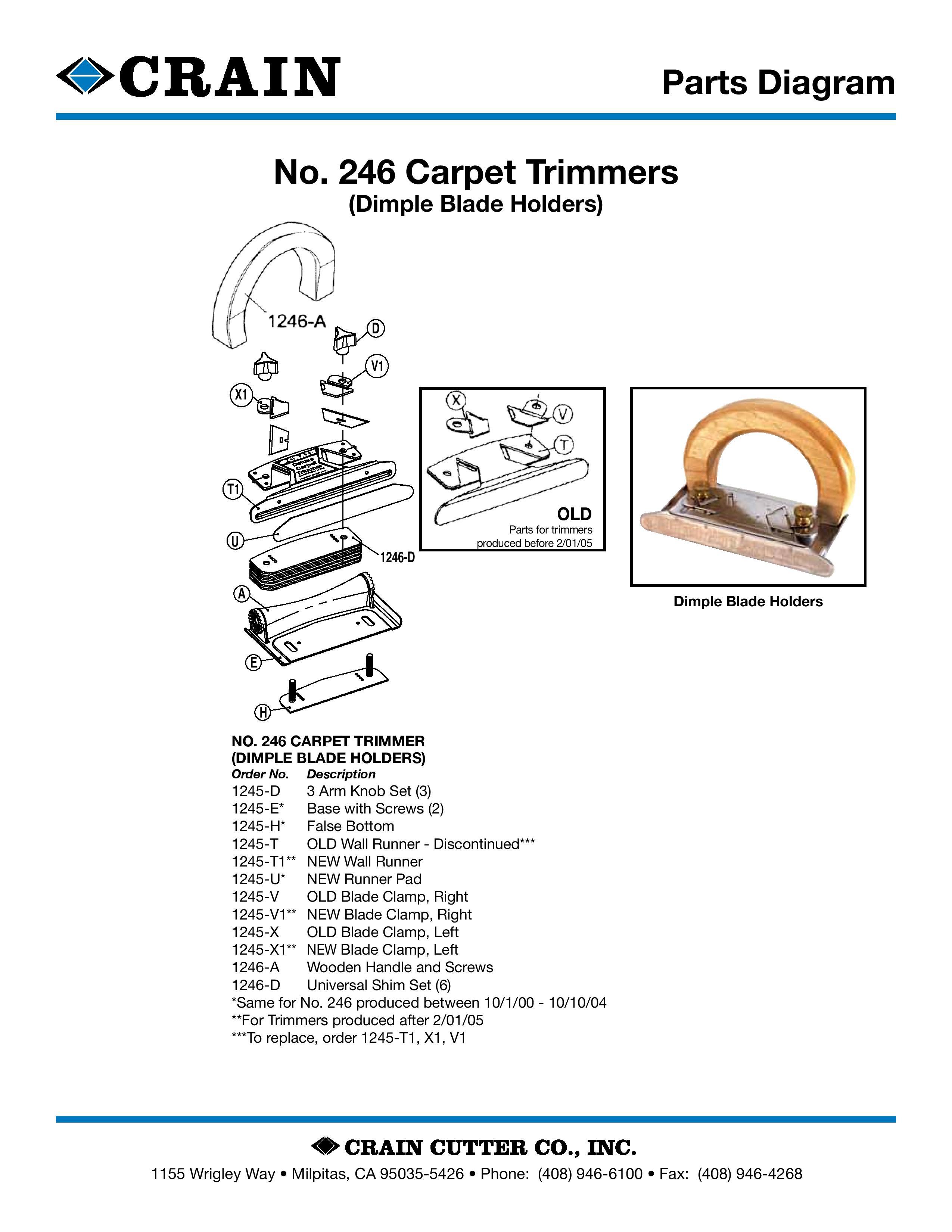 246 Carpet Trimmer