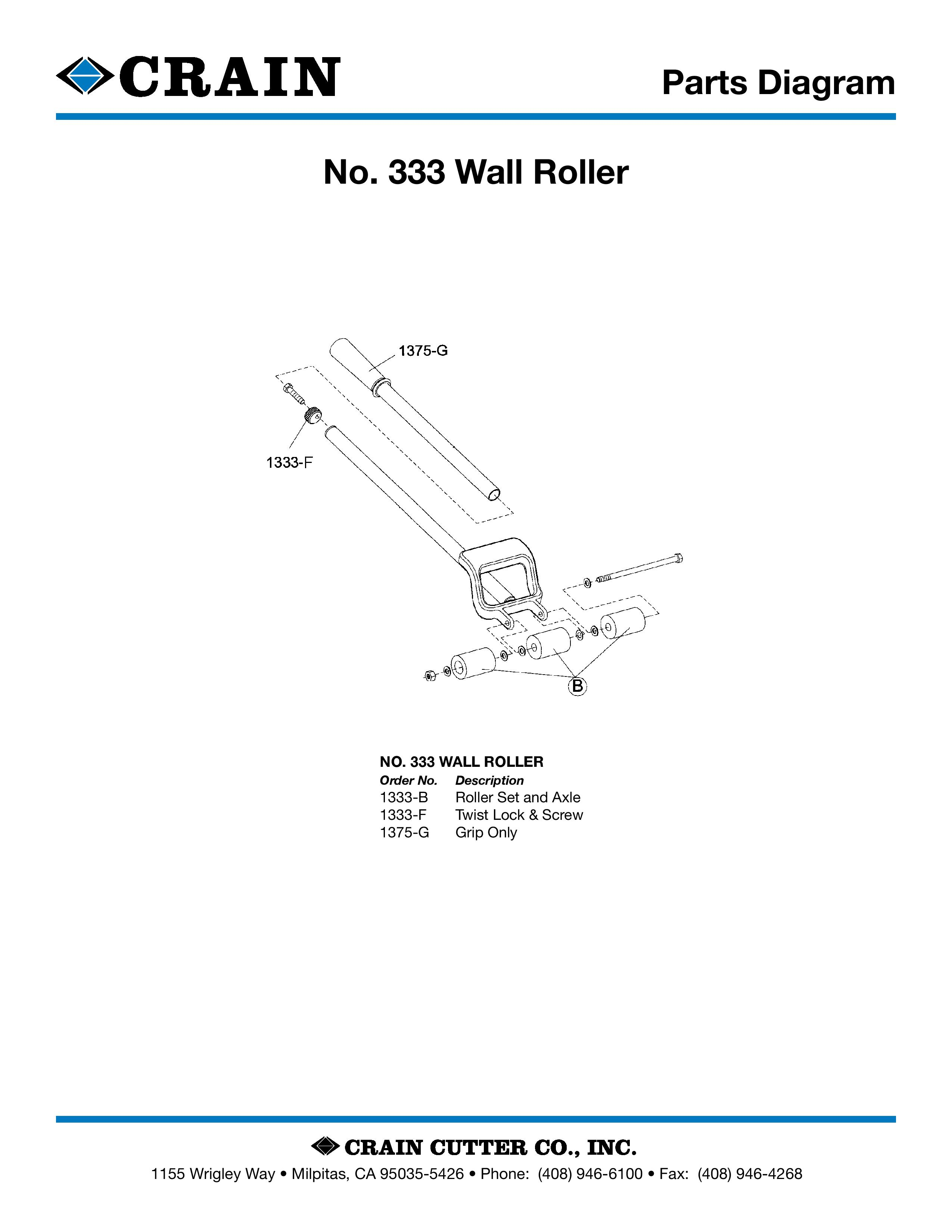 333 Extension Wall Roller