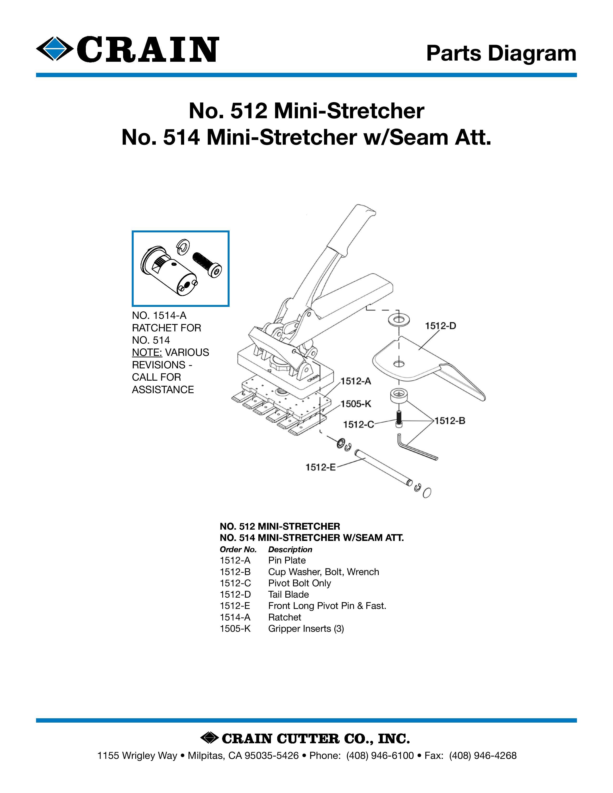 514 Mini-Stretcher