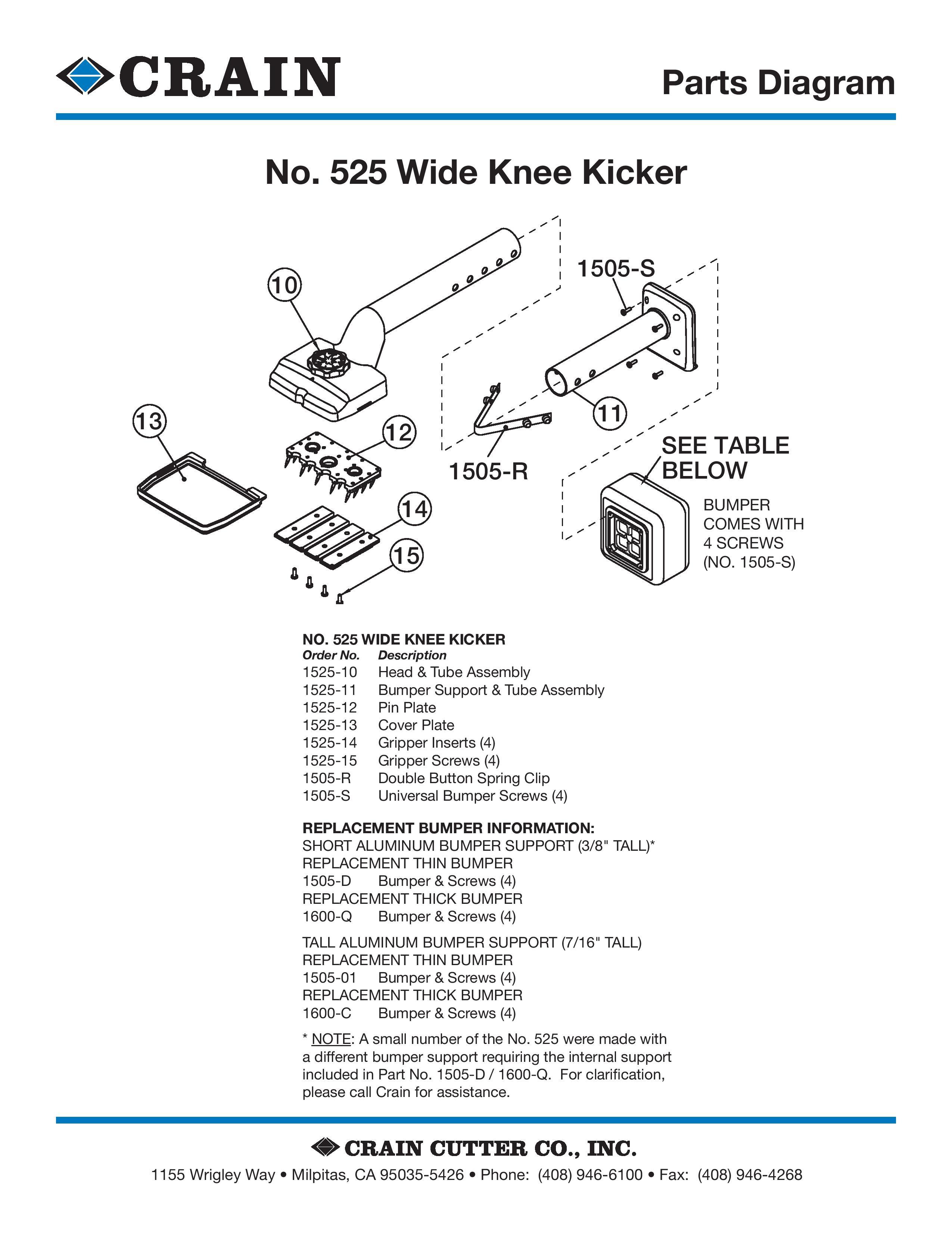 525 Wide Knee Kicker