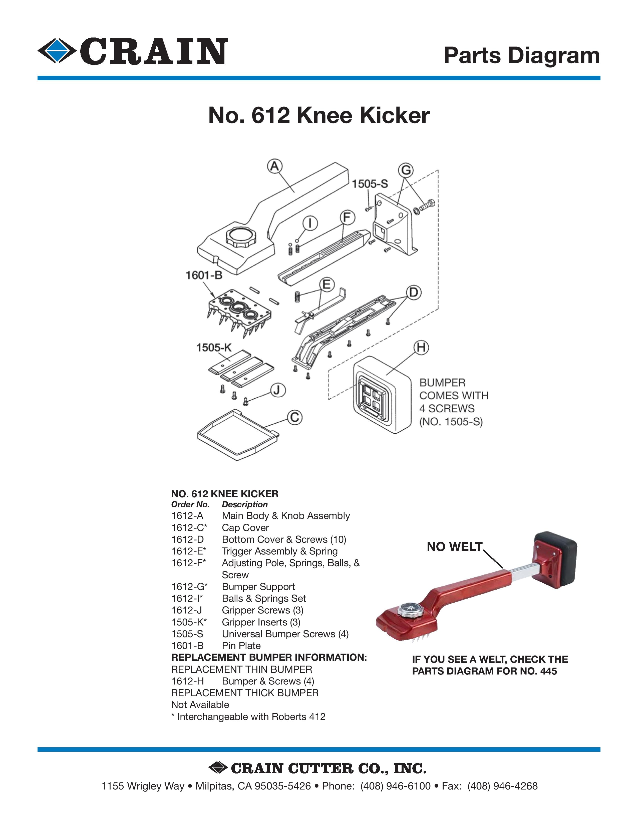 612 Knee Kicker