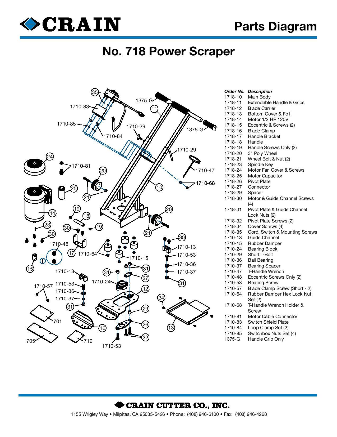 718 Power Scraper
