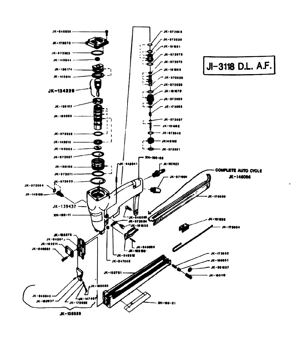 Duo-Fast JI-3118-DLAF Parts