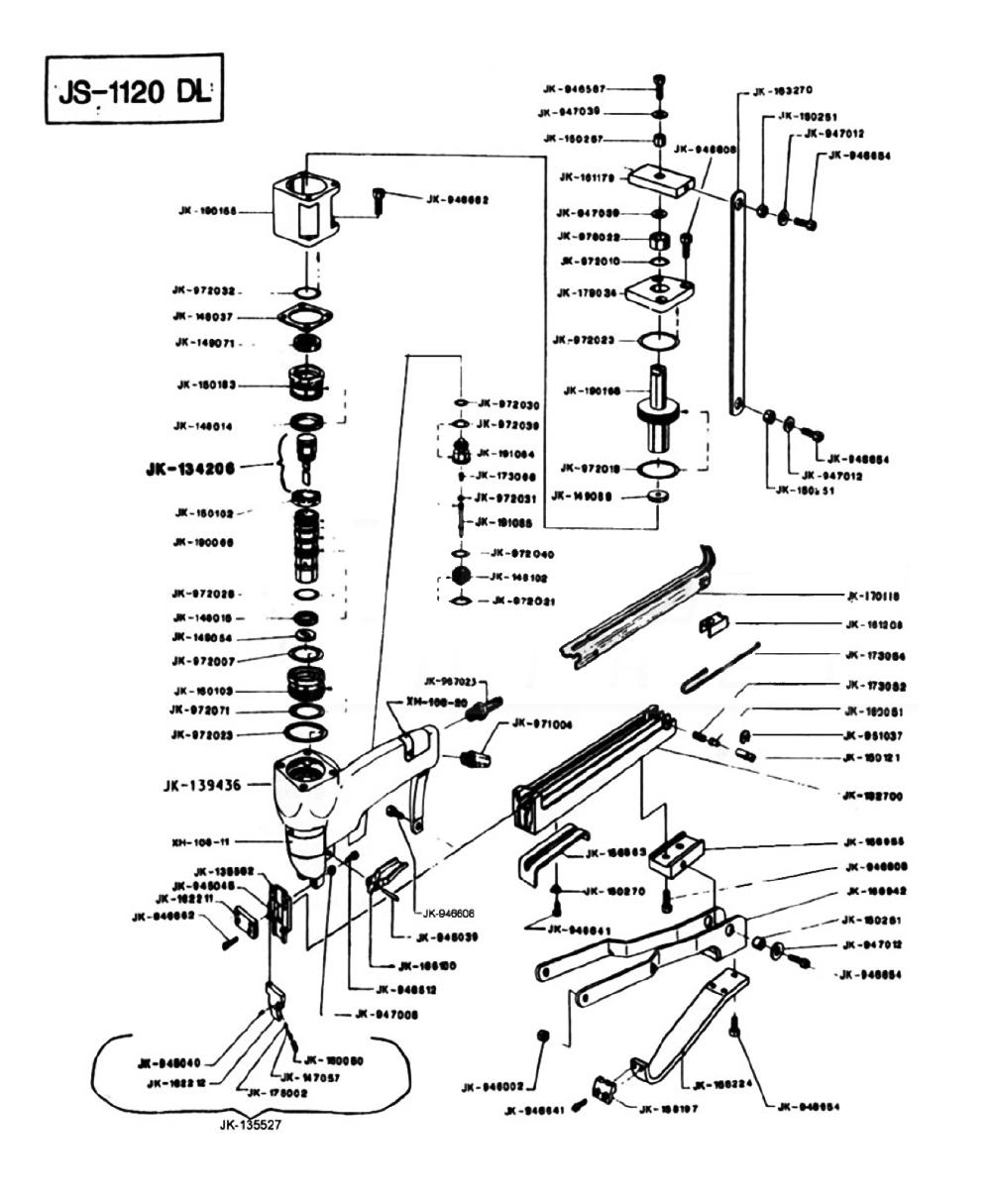 Duo-Fast JS-1120-DL Parts