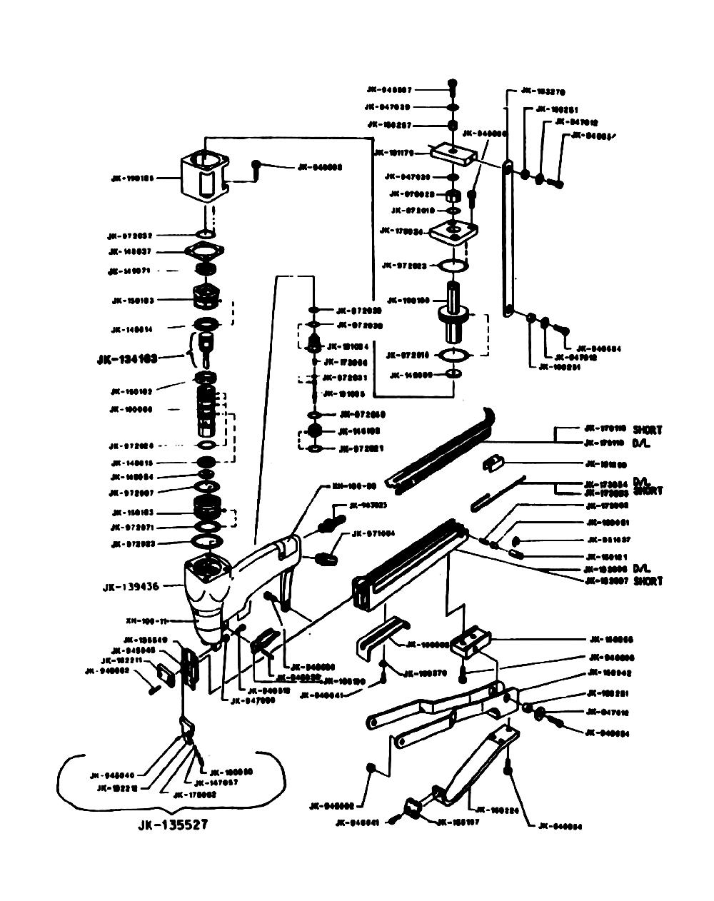 Duo-Fast JS-6620DL Parts