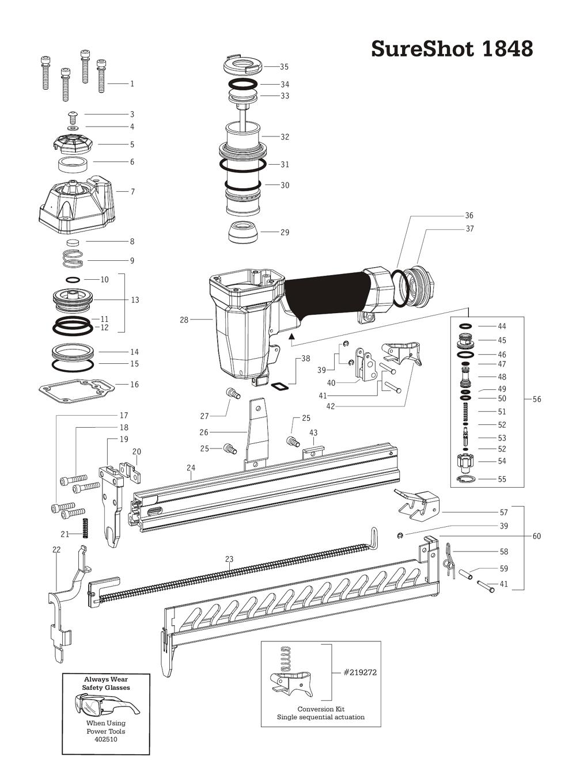Duo-Fast SureShot-1848 Parts