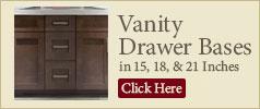 Vanity Drawer Bases