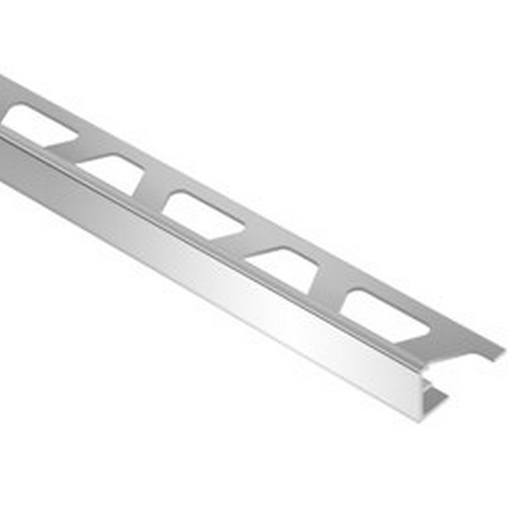 "Schluter Deco E80D 5/16"" Stainless Steel Edge Trim"
