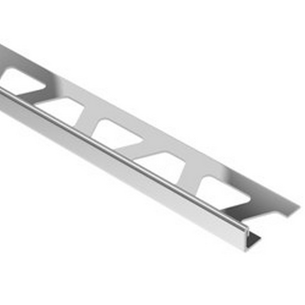 "Schluter Schiene E125 1/2"" Stainless Steel Edge Trim"