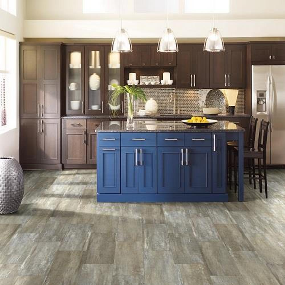 "SFI Stonegate LVT 20 Mil 12"" x 24"" Luxury Vinyl Tile - River Bed"