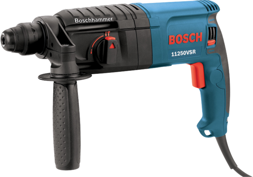 Bosch 11250VSR 7/8 In. SDS-plus Bulldog Rotary Hammer w/Carrying Case