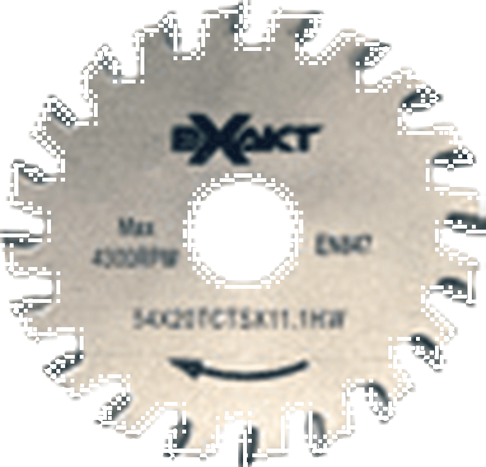 Exakt 20-TCT-S 20 Teeth Carbide Tipped Steel Blade