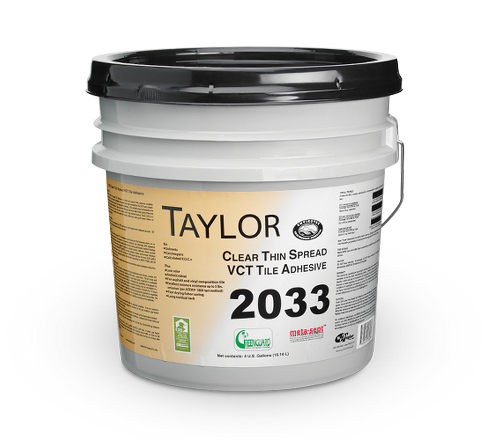 Taylor 2033 Clear Thin Spread Tile Adhesive ( 1 Gal. )