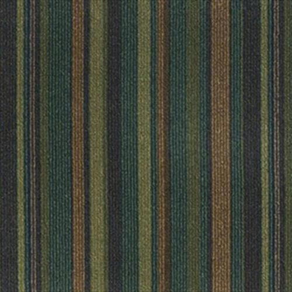 "Devils 24"" x 24"" Solution Dyed Nylon Modular Commercial Carpet Tile - Rhonda"