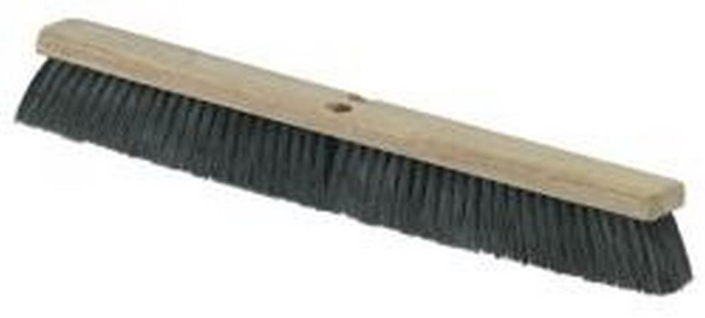 "Carlisle 3621922403 24"" Tampico Black Push Broom"
