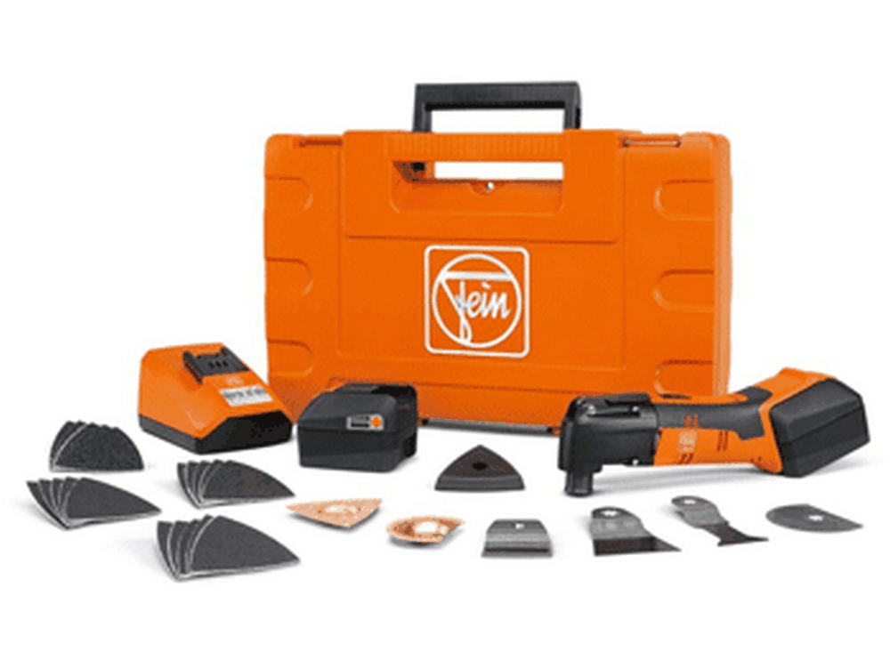 "Fein 528Q-B-SELECT-C AFMM 14 ""Select+"" Cordless Tool Kit with Case"