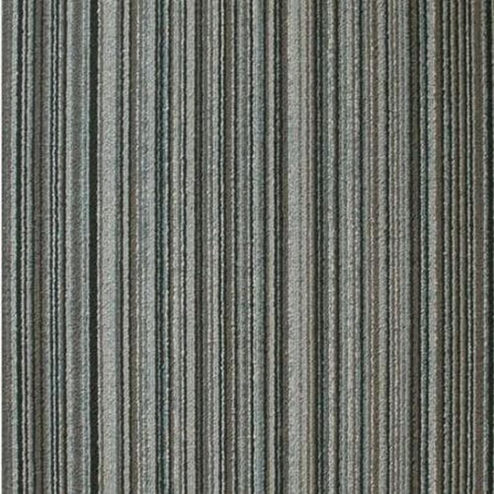 "Top Gun 20"" x 20"" 100% Polypropylene Modular Commercial Carpet Tile - Iceman"