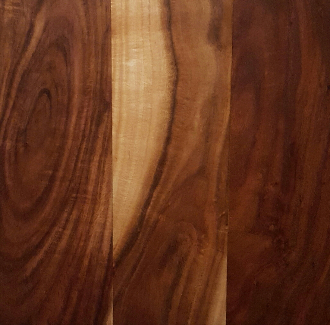 "Acacia Small Leaf Collection 5"" x 1/2"" Engineered Hardwood Flooring - Natural"