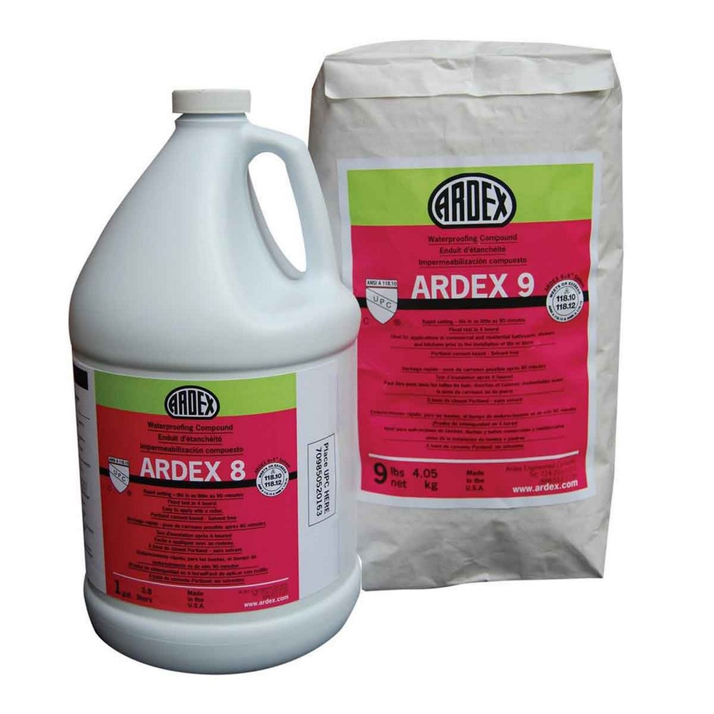 Ardex 8+9 Rapid Waterproofing and Crack Isolation Compound - 18 Lb. Kit