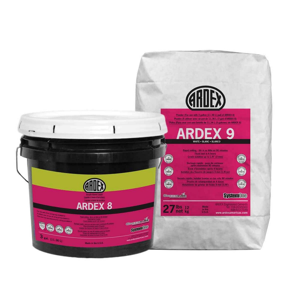 Ardex 8+9 Rapid Waterproofing and Crack Isolation Compound - 27 Lb. Commercial