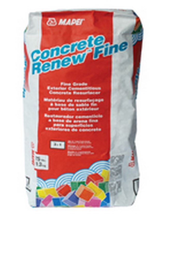 MAPEI Concrete Renew Fine High-Performance, Fine-Grade Concrete Resurfacer - 25 Lb. Bag