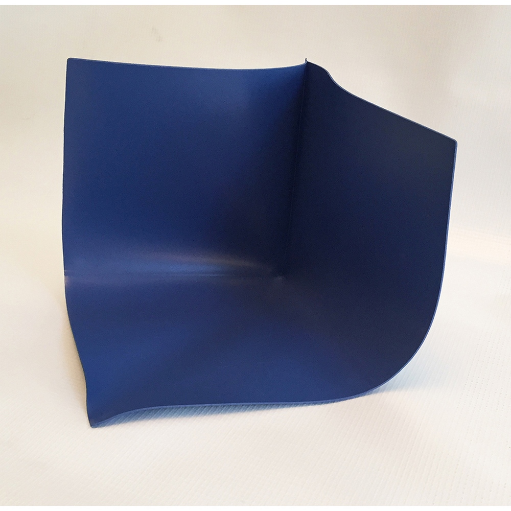 Tec CompoSeal Blue PVC Inside Corner Shower Pan Sheet Membrane