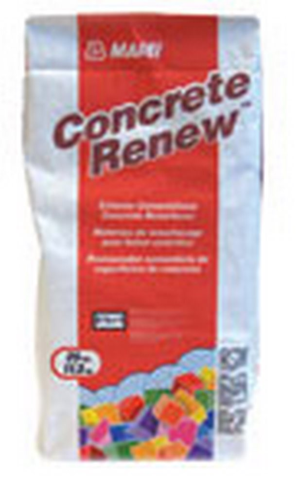 MAPEI Concrete Renew High-Performance Concrete Resurfacer - 25 Lb. Bag