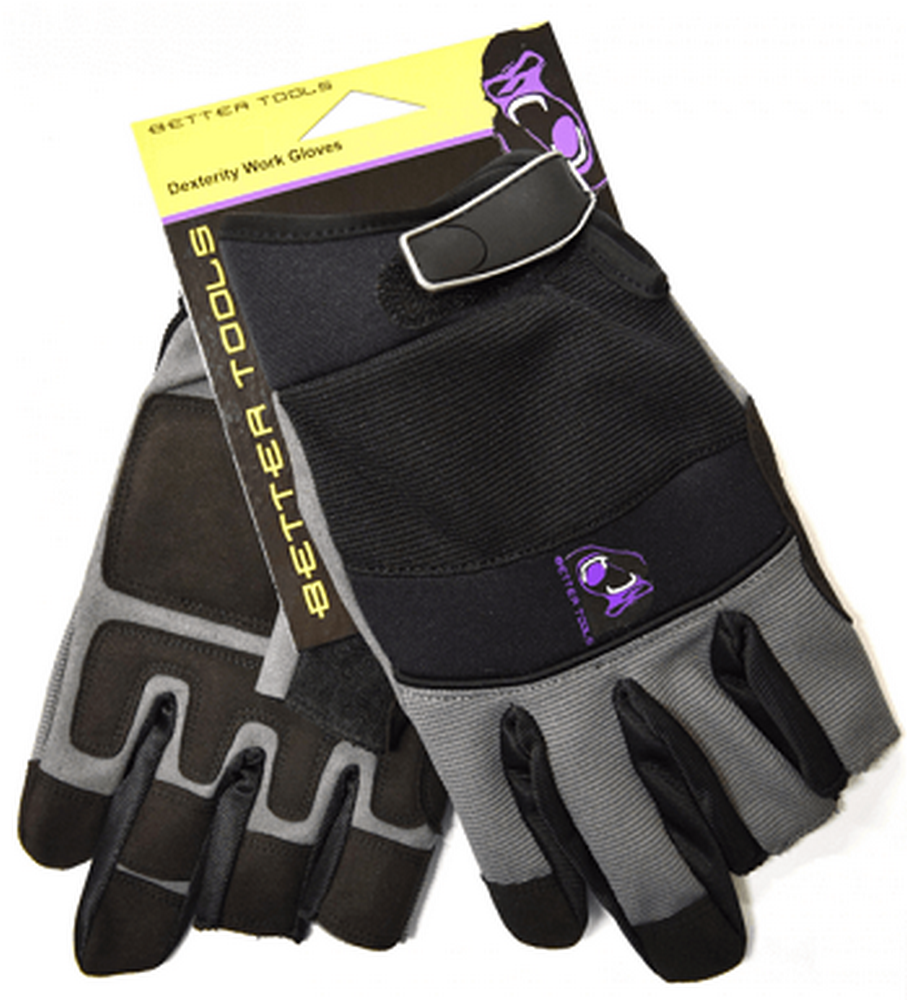 Better Tools BT187 Dexterity Work Gloves (X-Large)