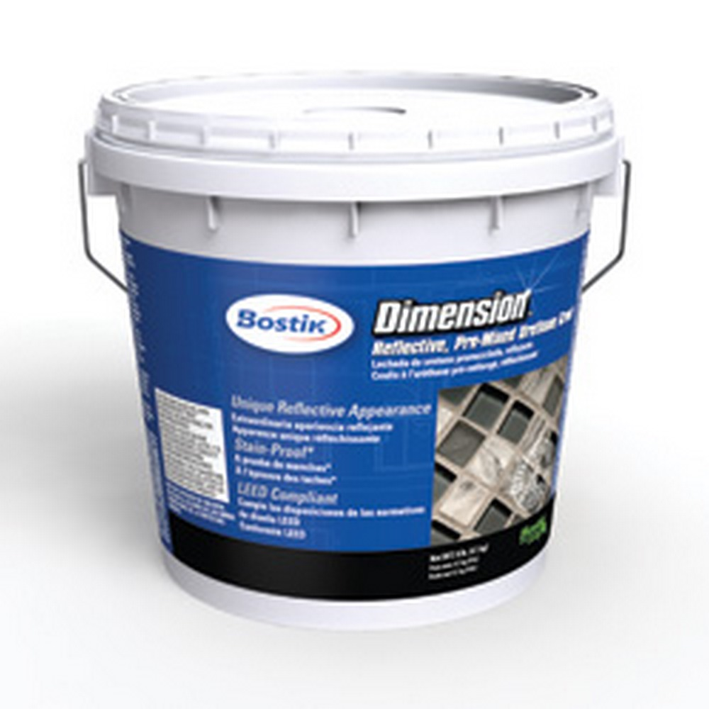 Bostik Dimension Rapidcure Glass-Filled Pre-Mixed, Urethane Grout (18 Lb. Container)