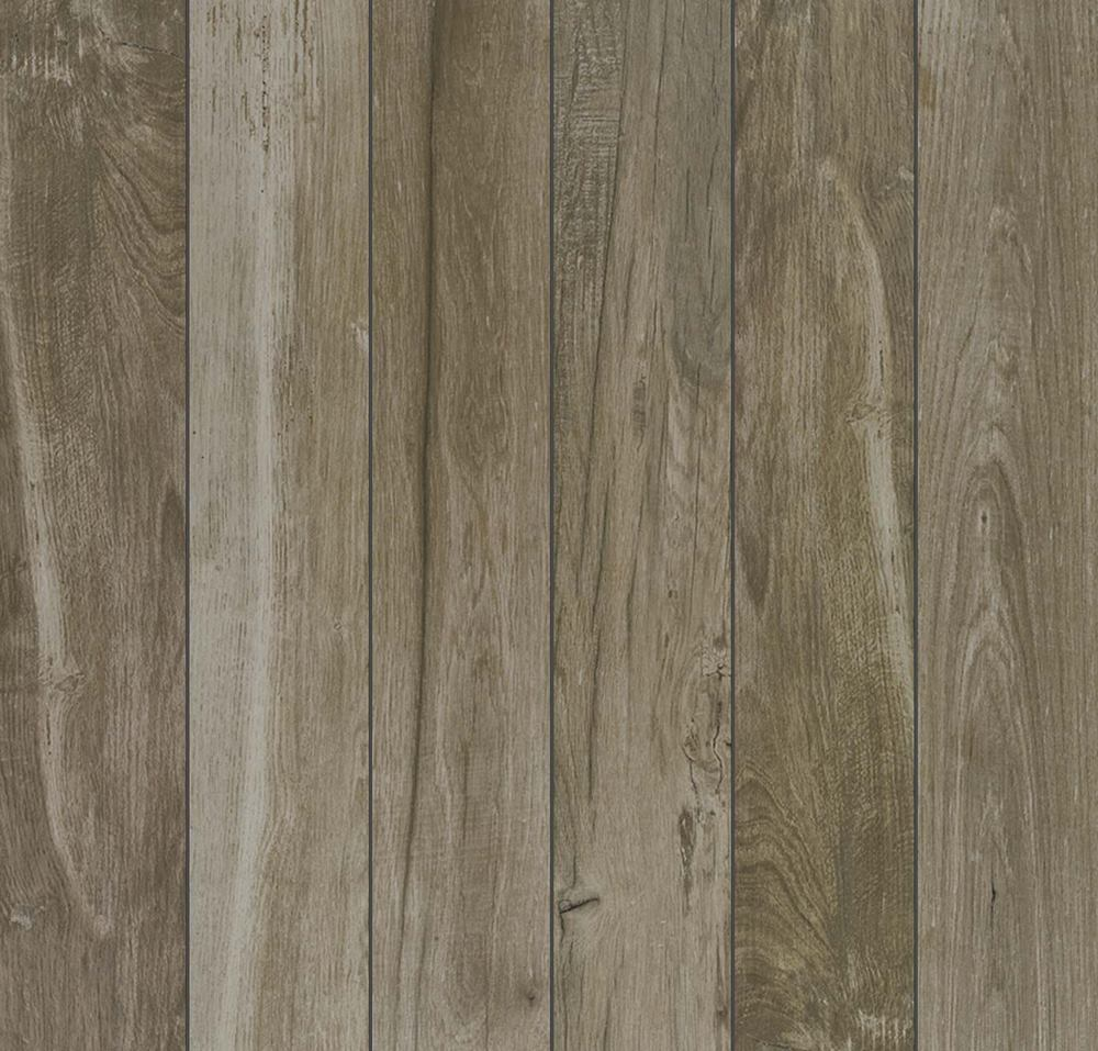 "Dock 6"" x 36"" Glazed Porcelain Wood Tile-Navy"