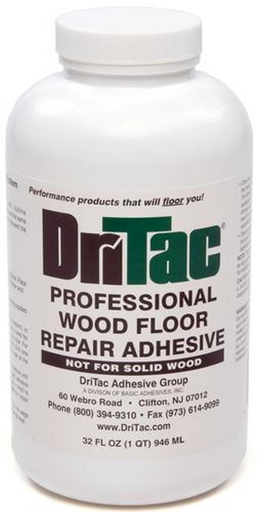 DriTac RS-2 Engineered Wood Floor Repair Adhesive - 1 Quart