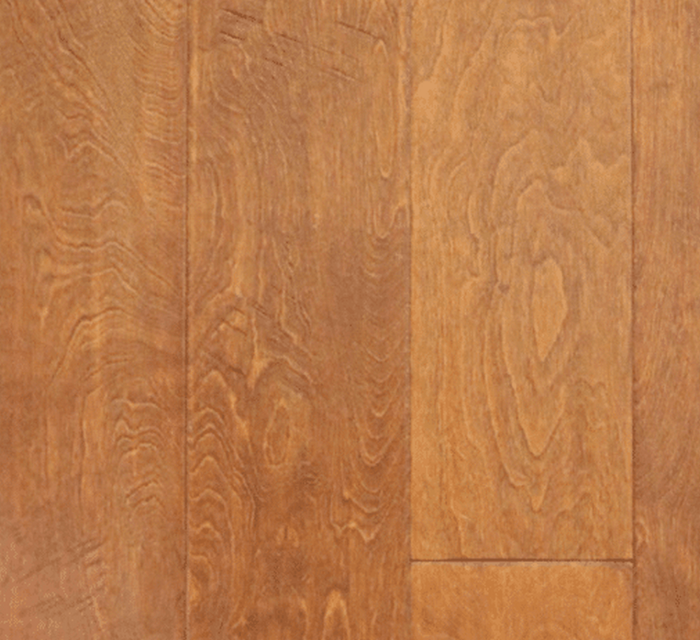 "Parkay Everest Hickory 6 1/2"" x 3/8"" Engineered Hardwood Flooring - Toasted Hill"