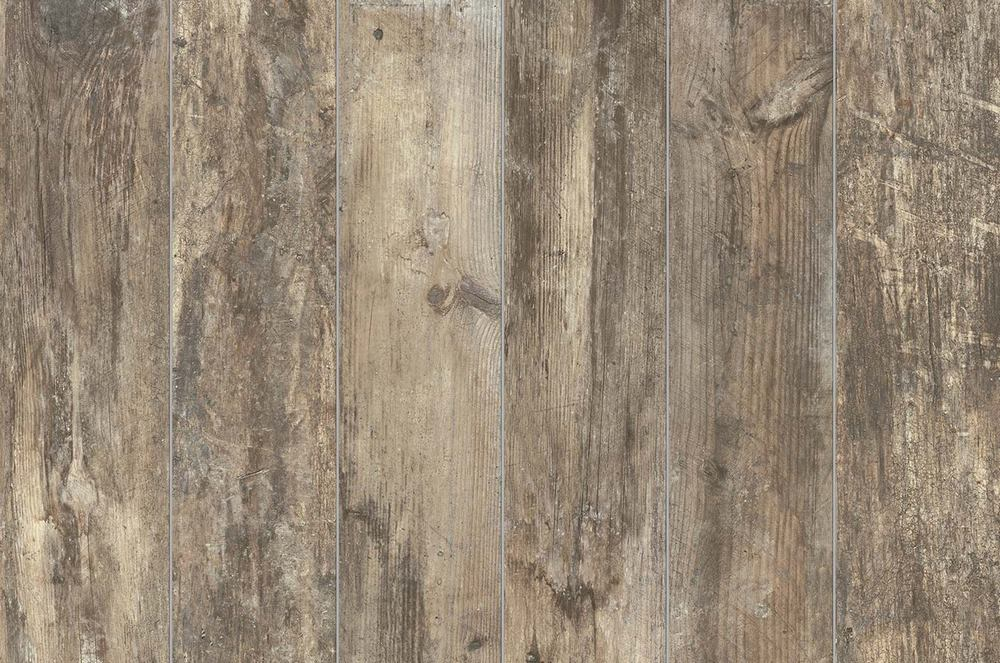 "Eko Wood 6"" x 36"" Glazed Porcelain Wood Tile-Noce"