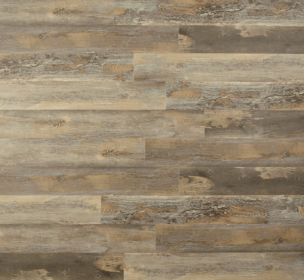 "Farmhouse Manor 7.125"" x 48"" SPC Rigid Core Hybrid Luxury Vinyl Plank - Cairnwood"