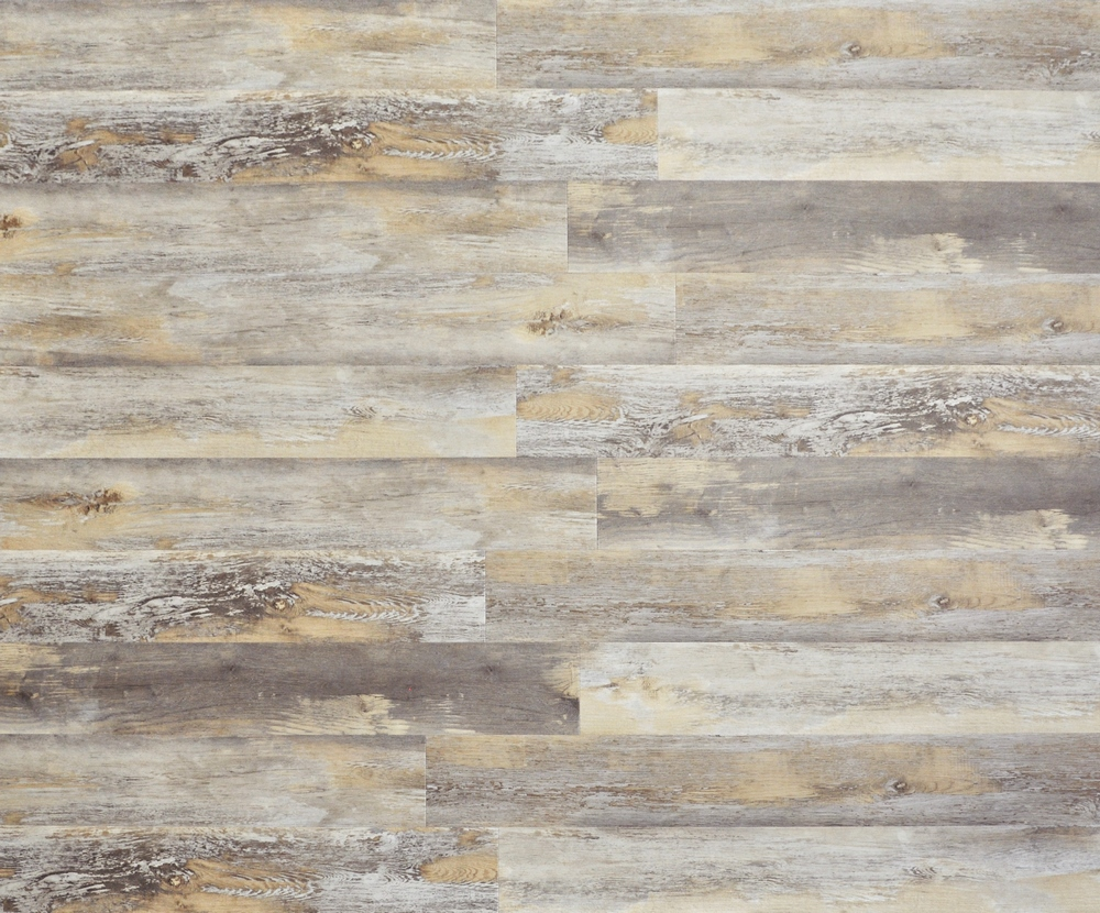 "Farmhouse Manor 7.125"" x 48"" SPC Rigid Core Hybrid Luxury Vinyl Plank - Glidden"