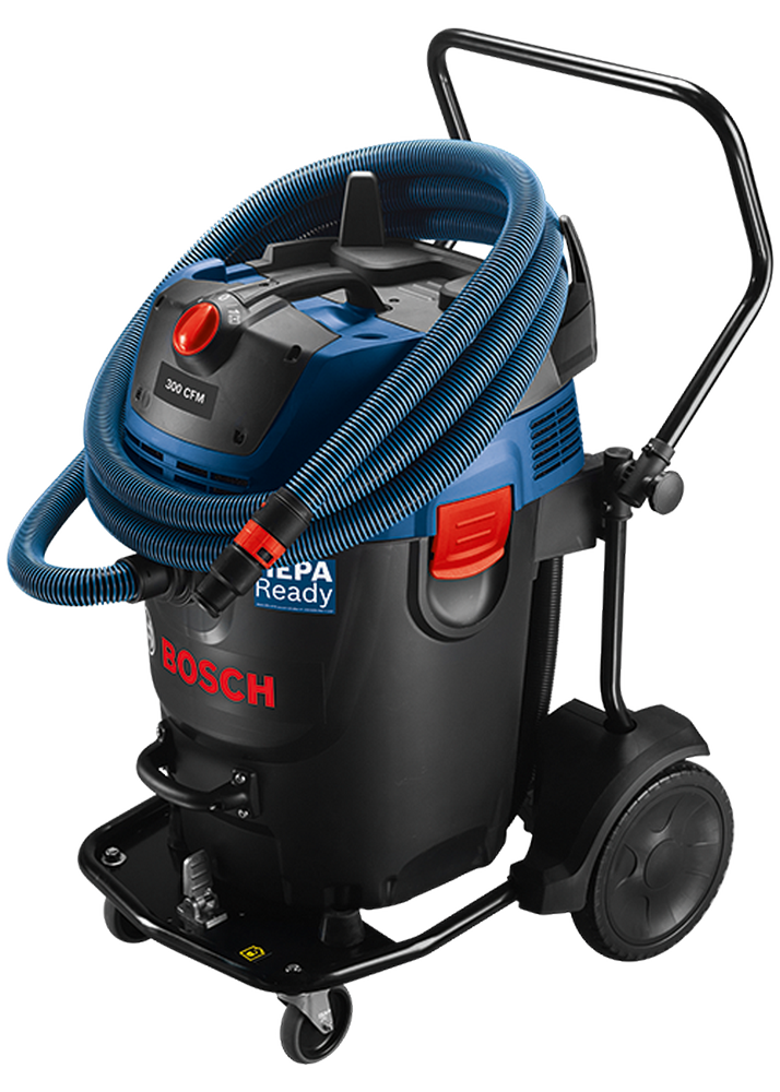 Bosch GAS20-17AH 17-Gallon 300-CFM Dust Extractor w/Auto Filter Clean and HEPA Filter