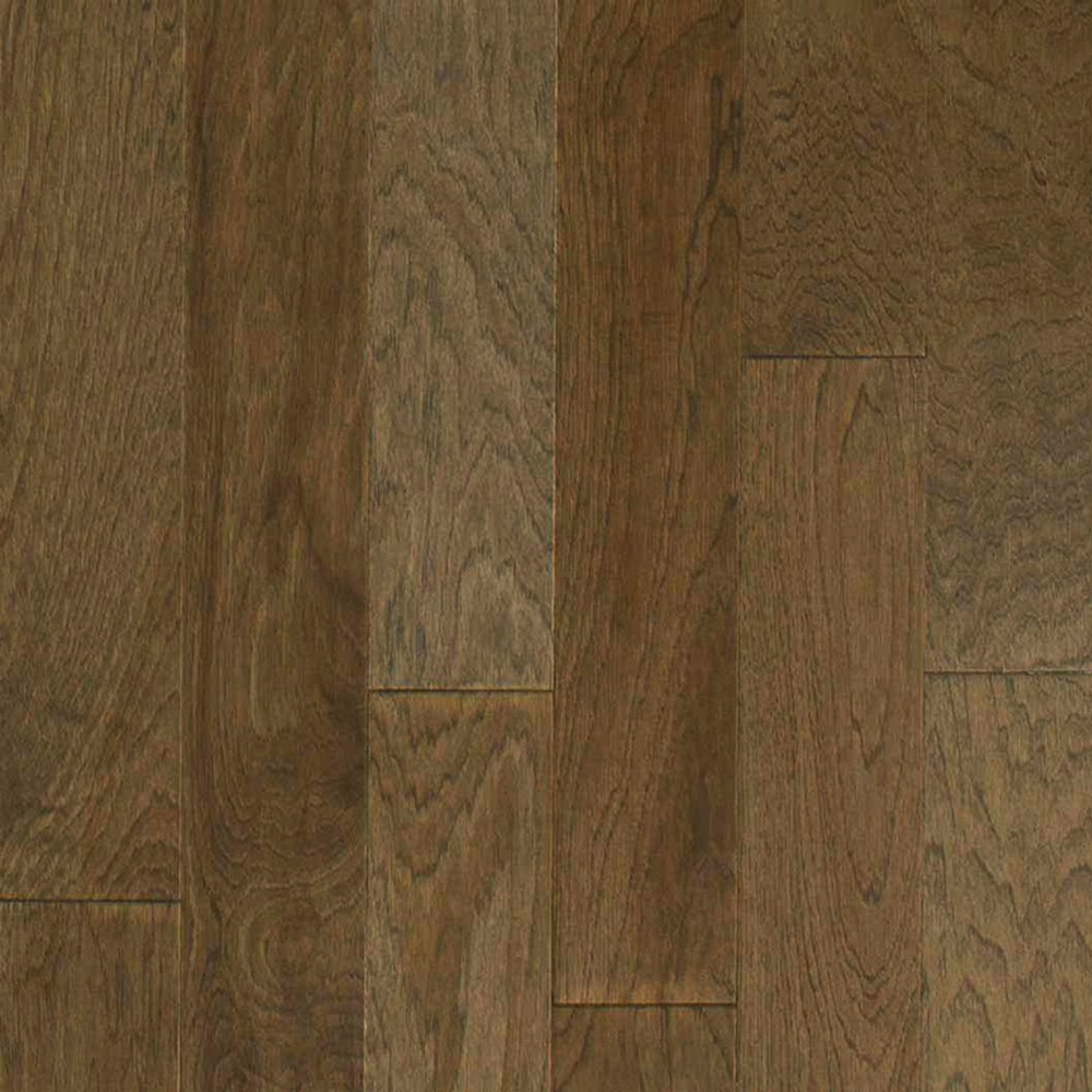 "HARRIS WOOD Aspen 5"" 2mm Engineered Tongue and Groove Hardwood-Hickory Silverdale HE2330"