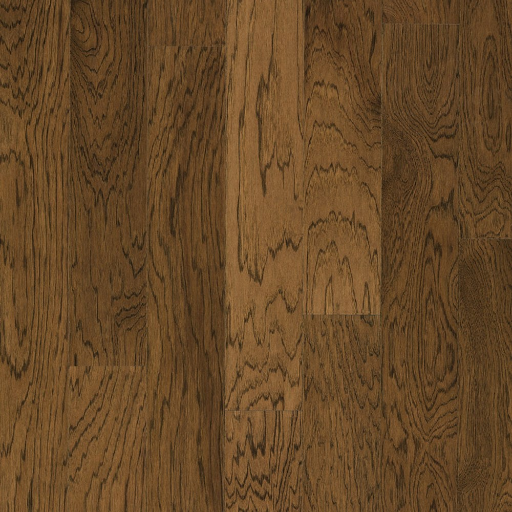 "HARRIS WOOD Aspen 5"" 2mm Engineered Tongue and Groove Hardwood-Hickory Shadewood HE2337"