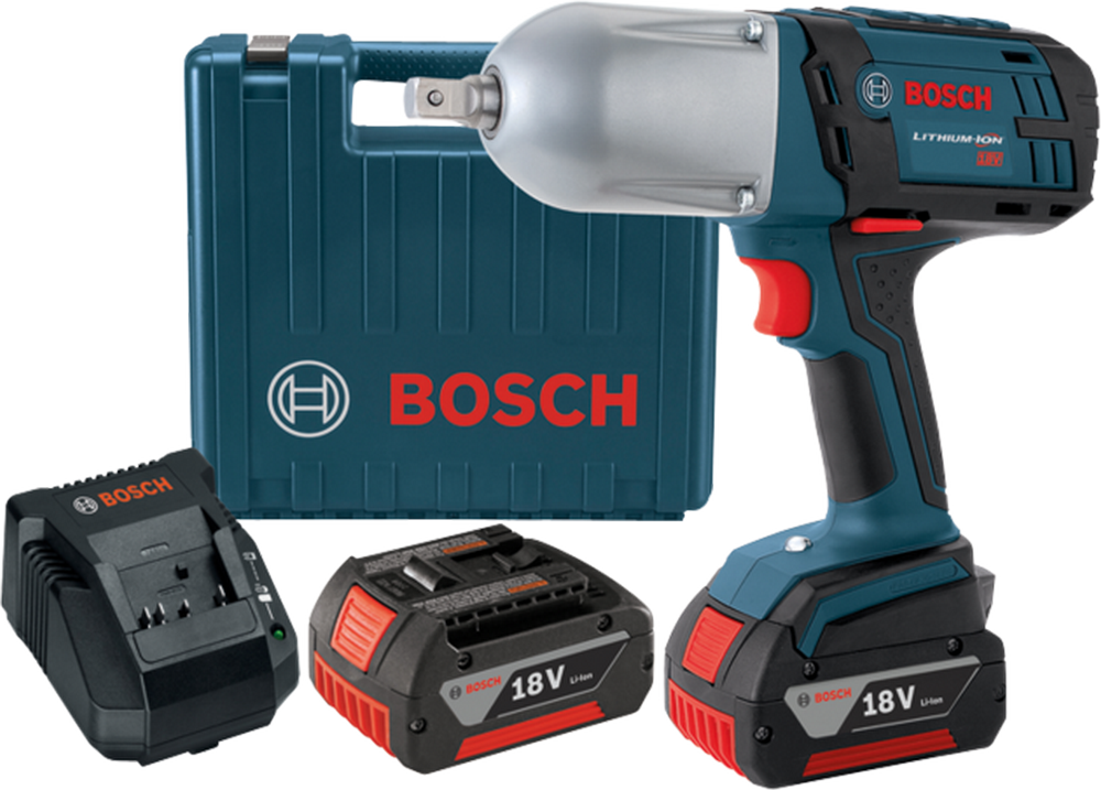 Bosch HTH181-01 18 V High Torque Impact Wrench w/Pin Detent and Carrying Case