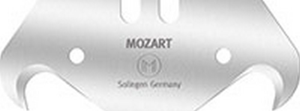 Mozart M.110.065 51 mm x 18.85 mm x .63 mm Hook Blades - Pack of 1000