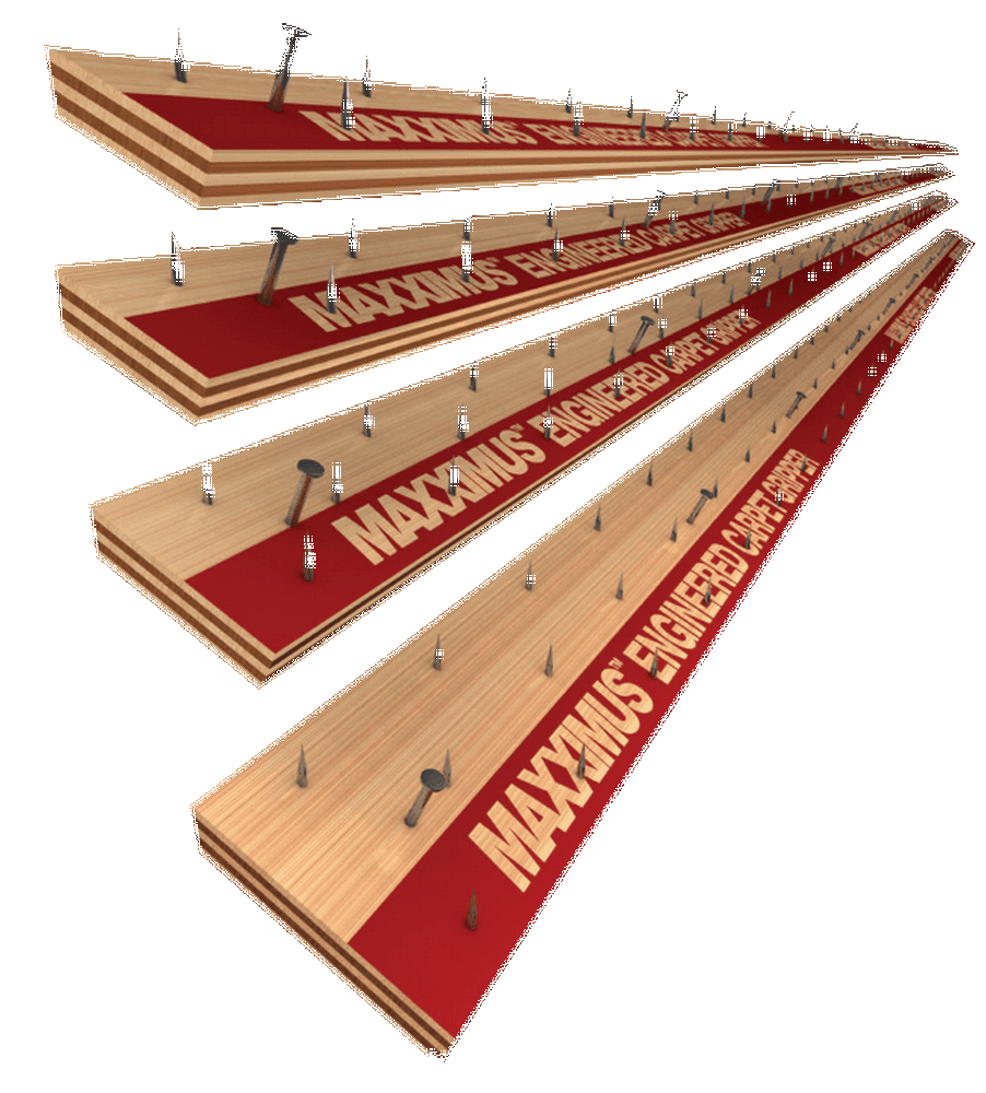 "Maxximus 1"" Wide Commercial TackStrip for Wood 11/16""x 13Ga"