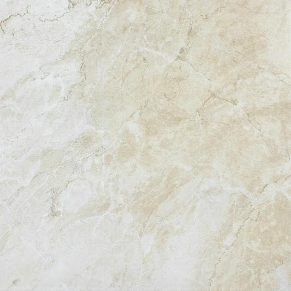 "Melody 8"" x 10"" Glazed Ceramic Wall Tile-Ivory"