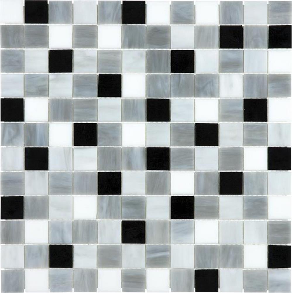 "Ornamental Glass 1"" x 1"" Mosaic-Arabescato"