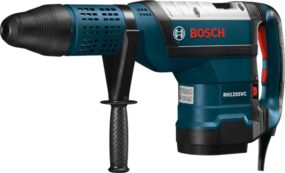 "Bosch RH1255VC 2"" SDS-max Rotary Hammer w/Carrying Case"