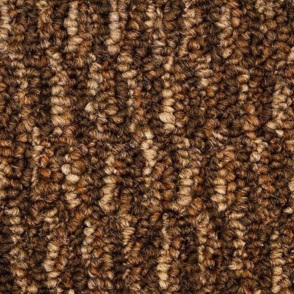 Scotch 12 Ft. Solution Dyed Polyester Commercial Carpet -Wild Turkey