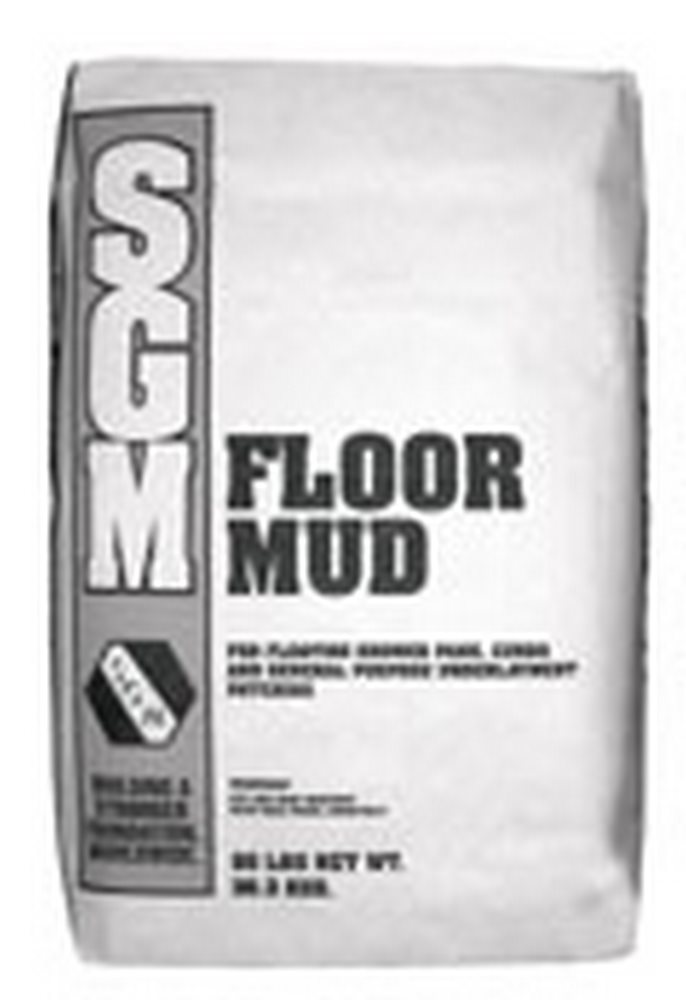 SGM Floor Mud 833 Portland Cement Mortar Bed - 80 Lb. Bag