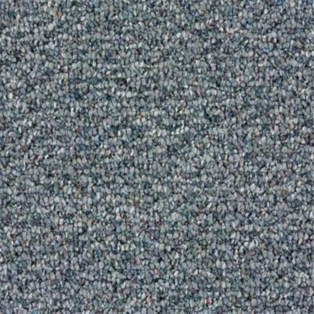 Short Hills 12 Ft. Olefin/Nylon Blend 32 Oz. Carpet - Blue Suede