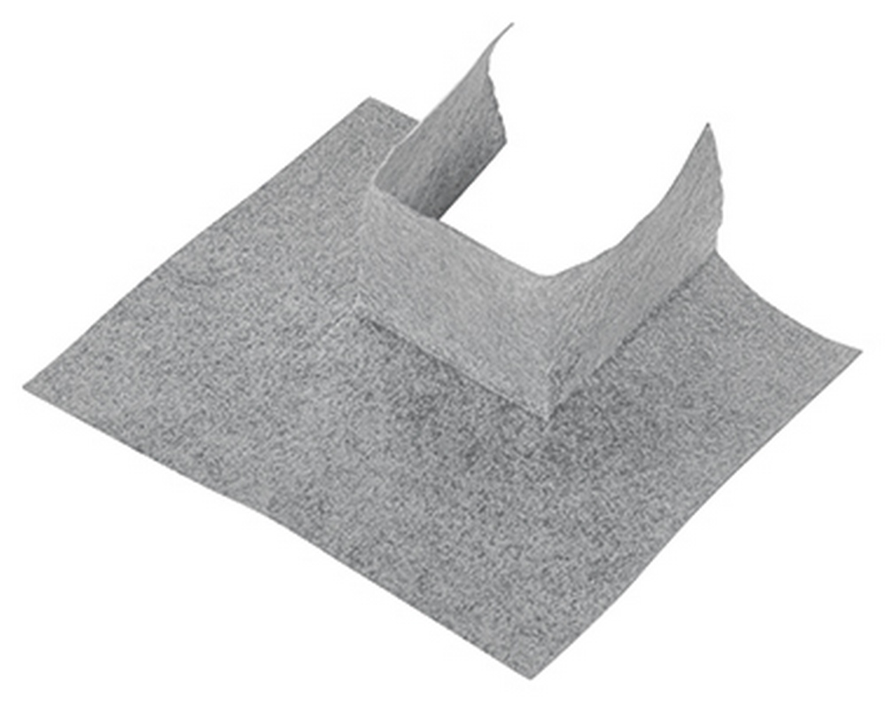 MAPEI ShowerPerfect SM U-Shaped Pre-Formed, Seamless Curb Covers - Box of 150 Units