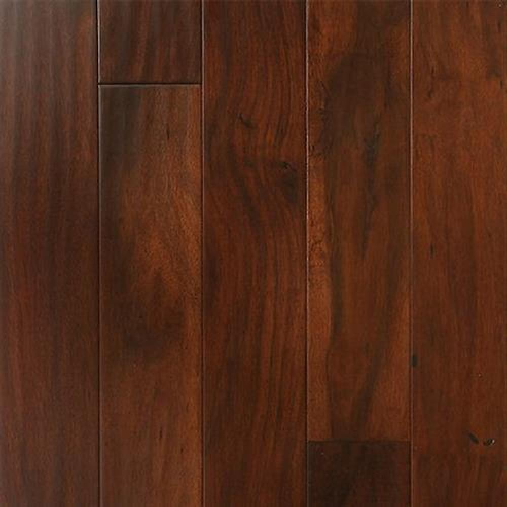 Bordeaux Handscrapped Random Lengths Hardwood Flooring - Acacia Cuban Coffee